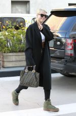 SOFIA RICHIE Arrives at Lancer Skincare in Beverly Hills 11/10/2017