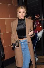 SOFIA RICHIE Out and About in London 11/14/2017