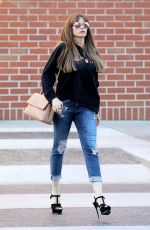 SOFIA VERGARA at Le Mervetty Bakery in Los Angeles 11/17/2017