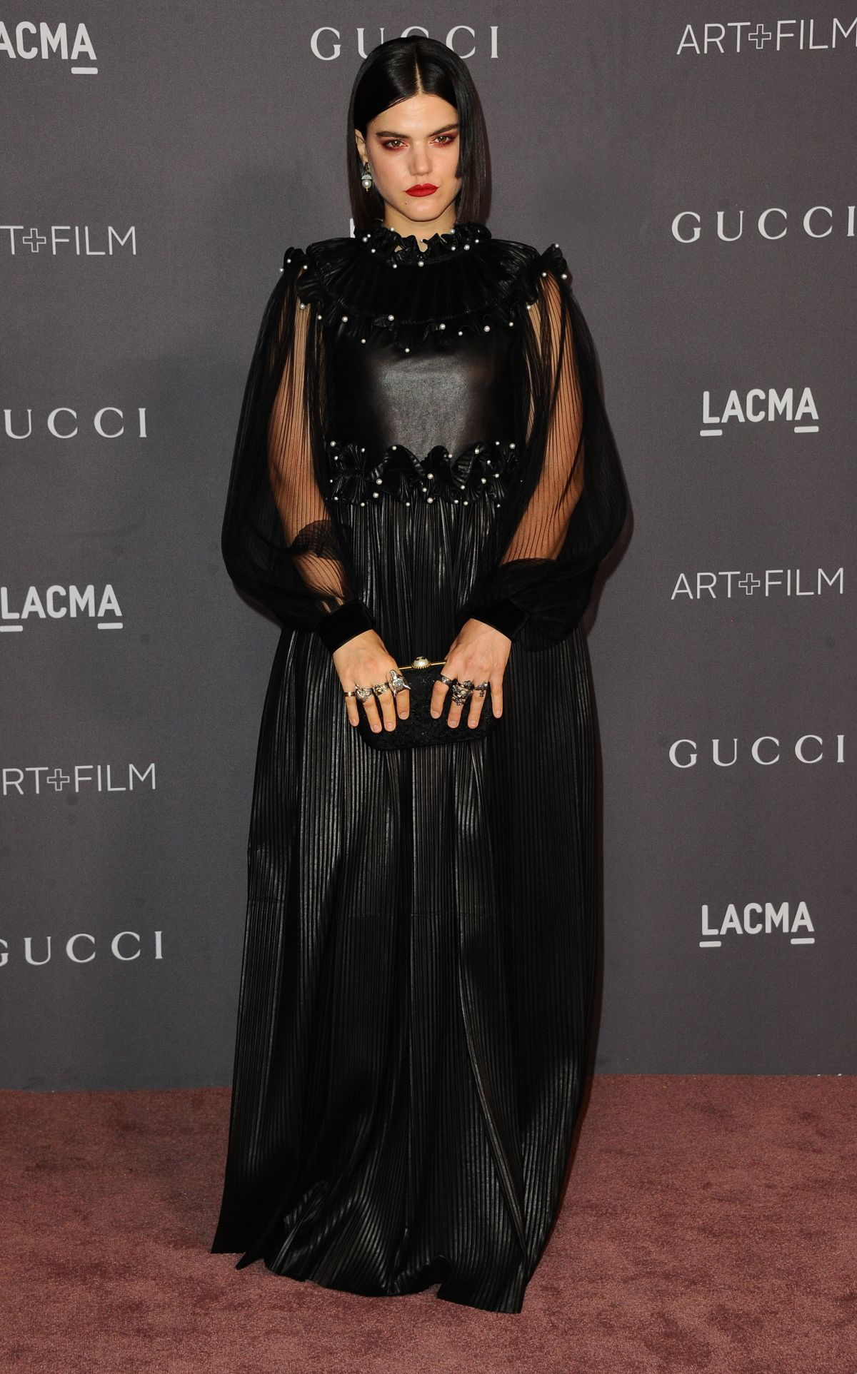 SOKO at 2017 LACMA Art + Film Gala in Los Angeles 11/04 ...