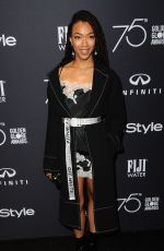 SONEQUA MARTIN at HFPA & Instyle Celebrate 75th Anniversary of the Golden Globes in Los Angeles 11/15/2017