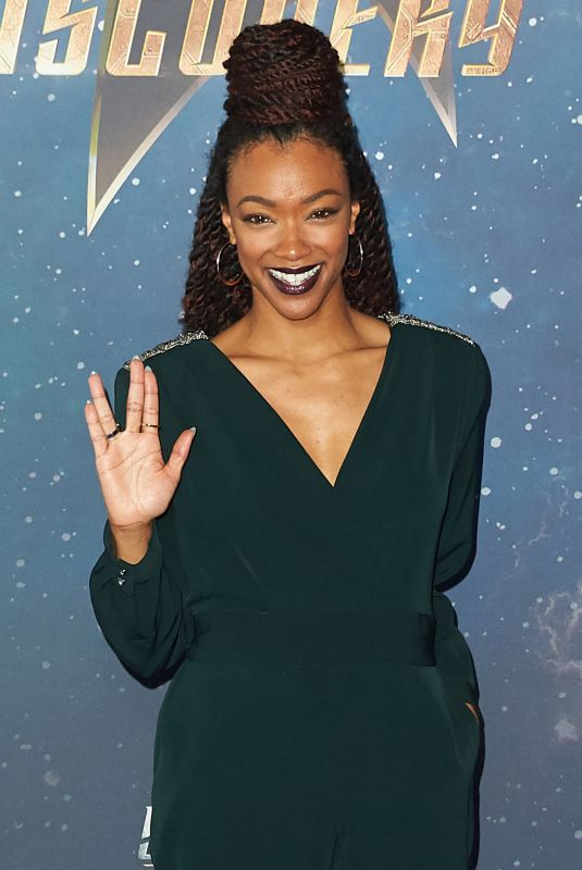 SONEQUA MARTIN GREEN at Star Trek: Discovery Fan Screening in London 11/05/2017