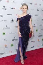 SONJA GERHARDT at 2017 International Emmy Awards in New York 11/20/2017
