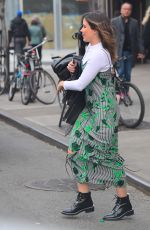 SOPHIA BUSH Out and About in New York 11/26/2017