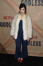 SOPHIA SILVER at Godless Series Premiere in New York 11/19/2017