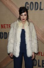 SOPHIA SILVER at Godless Series Premiere in New York 11/19/2017