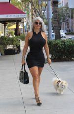 SOPHIA VEGAS WOLLERSHEIM adn PHOEBE PRICE Out in Beverly Hills 11/05/2017