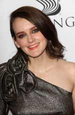 SOPHIE MCSHERA at Downton Abbey: The Exhibition in New York 11/17/2017