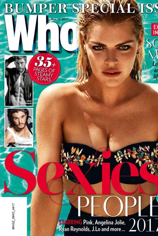 SOPHIE MONK in Who Magazine, November 2017