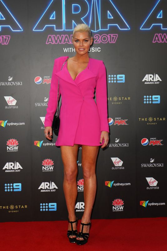 SOPHIE MONKA at 2017 Aria Awards in Sydney 11/28/2017