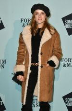 SOPHIE RUNDLE at Skate at Somerset House VIP Launch Party in London 11/14/2017