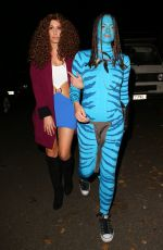 STACEY SALOMON at Jonathan Ross Halloween Party in London 10/31/2017