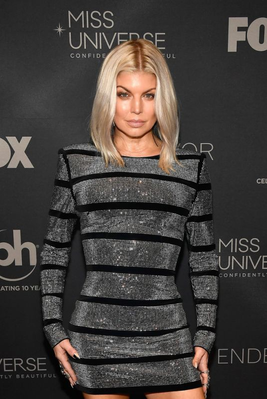 STACY FERGIE FERFUSON at 2017 Miss Universe Pageant in Las Vegas 11/26/2017