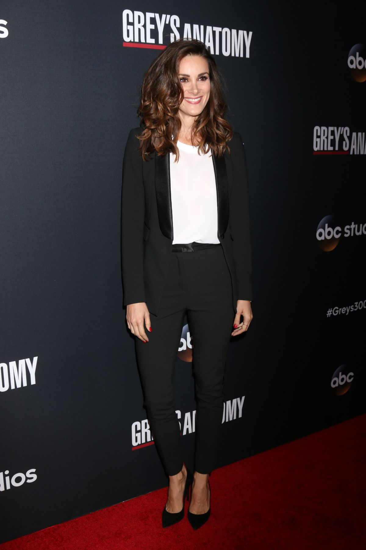 STEFANIA SPAMPINATO at 300th Grey\'s Anatomy Episode Celebration in ...