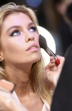STELLA MAXWELL on the Backstage at 2017 VS Fashion Show in Shanghai 11/20/2017