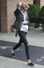 STELLA MAXWELL Out and About in New York 11/14/2017