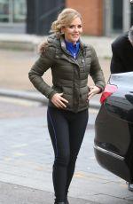 STEPHANIE WARING Leaves ITV Studio in London 11/24/2017