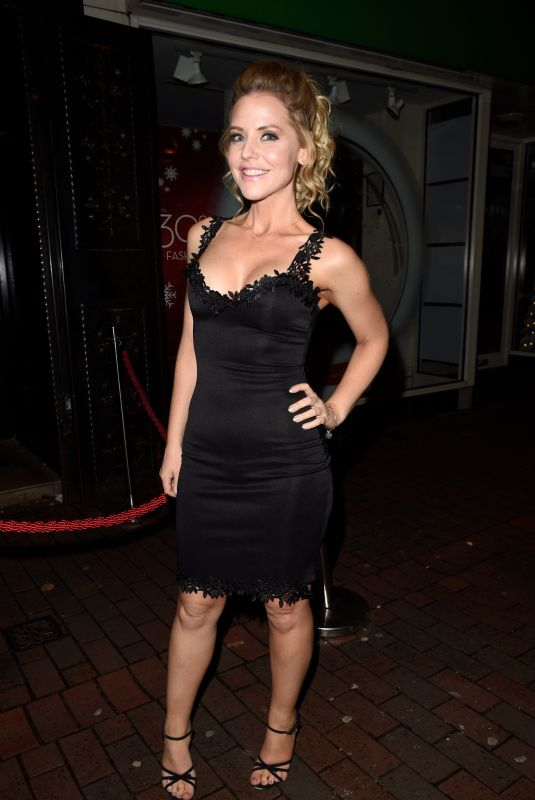 STEPHANIE WARING Night Out in Cheshire 11/11/2017
