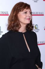 SUSAN SARANDON at The Children's Monologues at Carnegie Hall in New York 11/13/2017