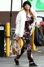 SUSIE ABROMEIT Out wioth Her Dog in West Hollywood 11/28/2017