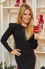 SYLVIE MEIS Promotes Her New Shoe Collection for Deichmann in Hamburg 11/22/2017