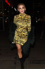 TALLIA STORM at Body Shop Christmas Event with Henry Holland in London 11/13/2017