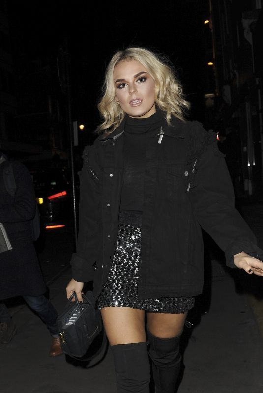 TALLIA STORM at You People Launch Party in London 11/23/2017