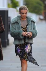 TALLIA STORM Leaves Her Hotel in London 11/12/2017