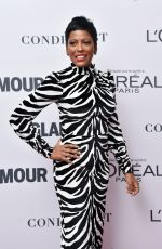 TAMRON HALL at Glamour Women of the Year Summit in New York 11/13/2017