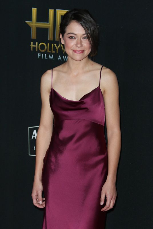 TATIANA MASLANY at 2017 Hollywood Film Awards in Beverly Hills 11/05/2017
