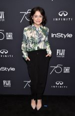 TATIANA MASLANY at HFPA & Instyle Celebrate 75th Anniversary of the Golden Globes in Los Angeles 11/15/2017