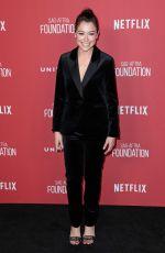 TATIANA MASLANY at Sag-Aftra Foundation Patron of the Artists Awards in Beverly Hills 11/09/2017