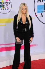 TAYLOR GREY at American Music Awards 2017 at Microsoft Theater in Los Angeles 11/19/2017