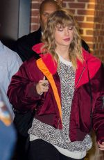 TAYLOR SWIFT Leaves Her Reputation Album Release After-party in New York 11/14/2017