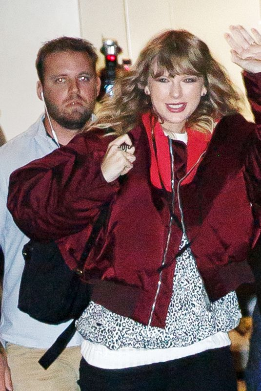 TAYLOR SWIFT Leaves Her Reputation Album Release in New York 11/13/2017