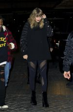 TAYLOR SWIFT Night Out in New York 11/12/2017