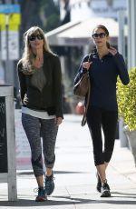 TERI HATCHER and Friend Out in Santa Monica 11/14/2017