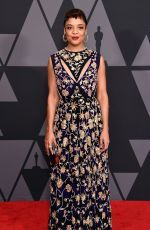 TESSA THOMPSON at AMPAS 9th Annual Governors Awards in Hollywood 11/11/2017