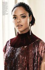 TESSA THOMPSON in Elle Magazine, Canada December 2017