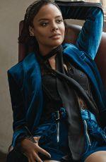 TESSA THOMPSON in Elle Magazine, December 2017 Issue