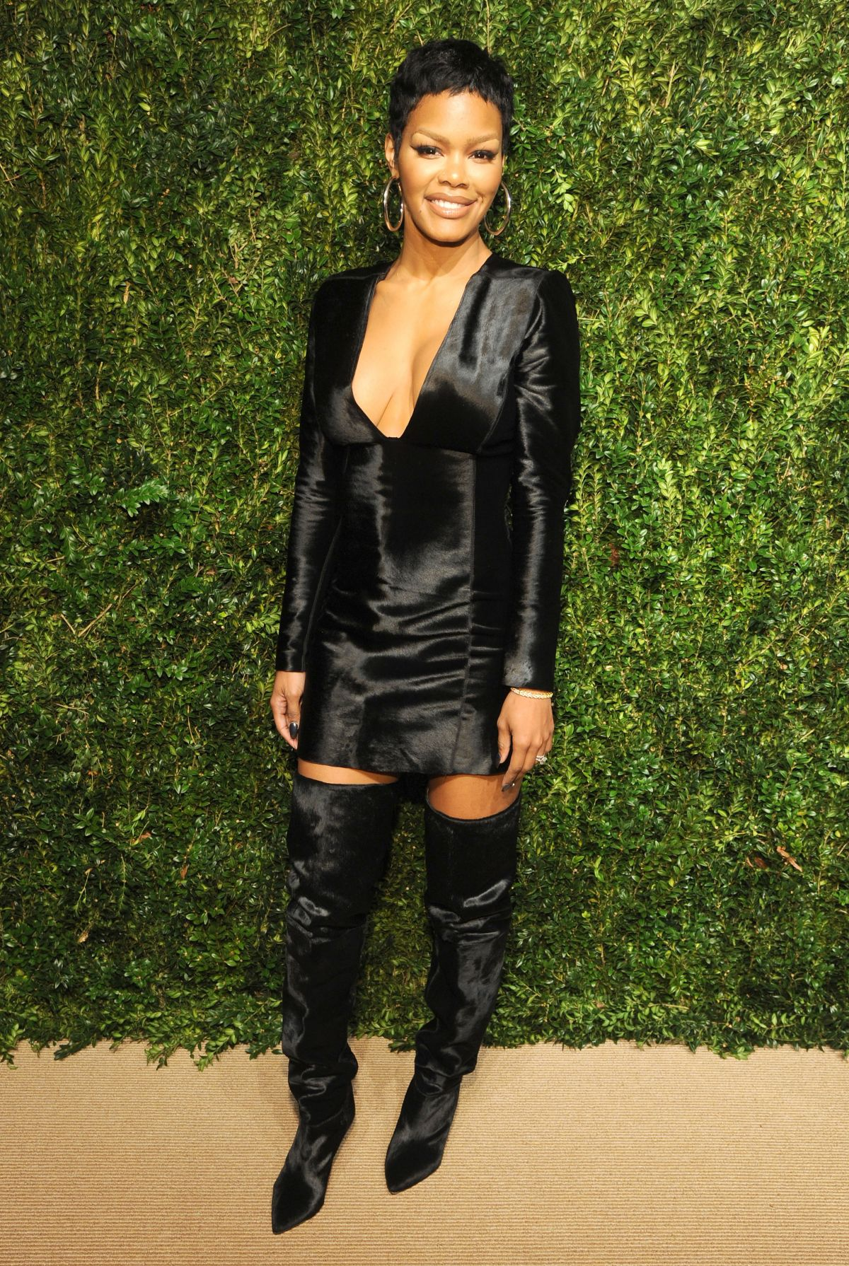 TEYANA TAYLOR at 14th Annual Cfda/Vogue Fashion Fund ...