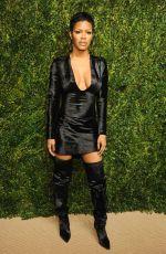 TEYANA TAYLOR at 14th Annual Cfda/Vogue Fashion Fund Awards in New York 11/06/2017