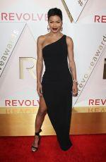 TEYANA TAYLOR at #revolveawards in Hollywood 11/02/2017