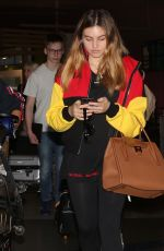 THYLANE BLONDEAU at LAX Airport in Los Angeles 11/07/2017
