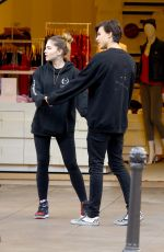 THYLANE BLONDEAU Out and About in Los Angeles 11/28/2017