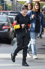 THYLANE BLONDEAU Out for Lunch at Il Pastaio in Beverly Hills 11/15/2017
