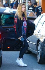 THYLANE BLONDEAU Out for Lunch at Urth Caffe in West Hollywood 11/19/2017