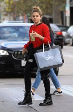 THYLANE BLONDEAU Out Shopping in Los Angeles 11/08/2017