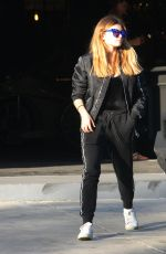 THYLANE BLONDEAU Out Shopping in West Hollywood 11/25/2017