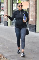 TIA MOWRY Leaves a Gym in Studio City 11/20/2017